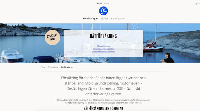 if båtförsäkring hemsida