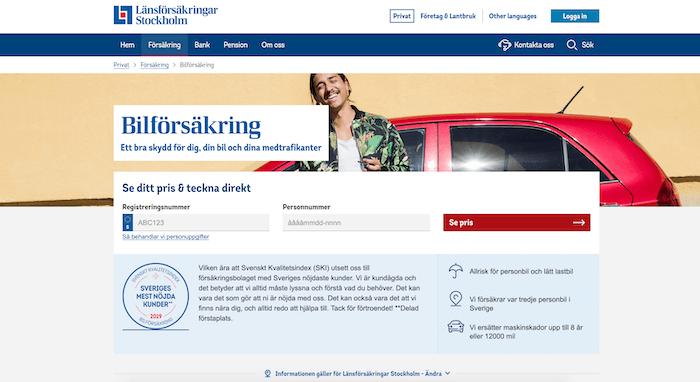 länsförsäkringar bilförsäkring hemsida