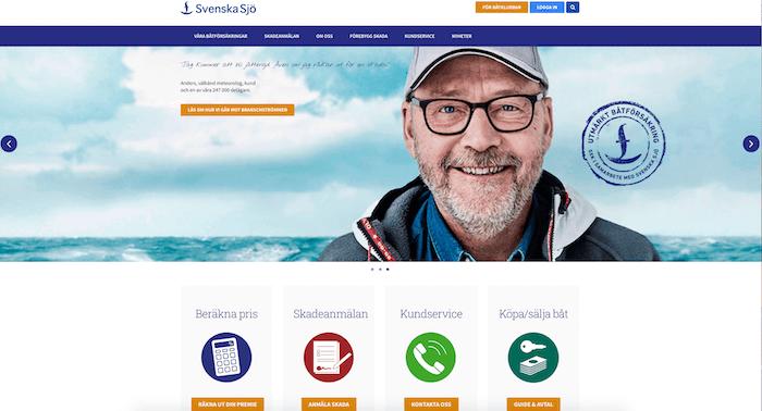svenska sjö båtförsäkring hemsida