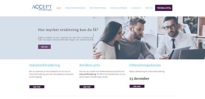accept försäkringar hemsida