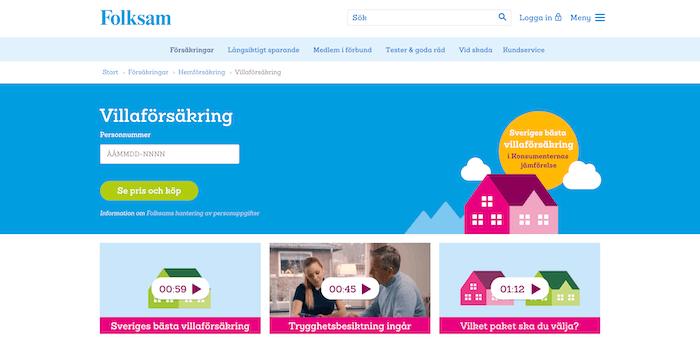 folksam villaförsäkring hemsida