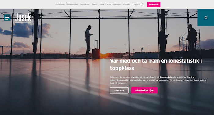 jusek inkomstförsäkring hemsida