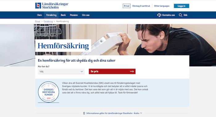 länsförsäkringar hemförsäkring hemsida