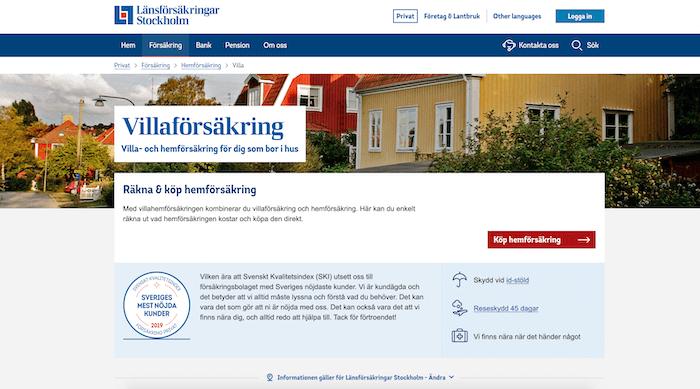 länsförsäkringar villaförsäkring hemsida
