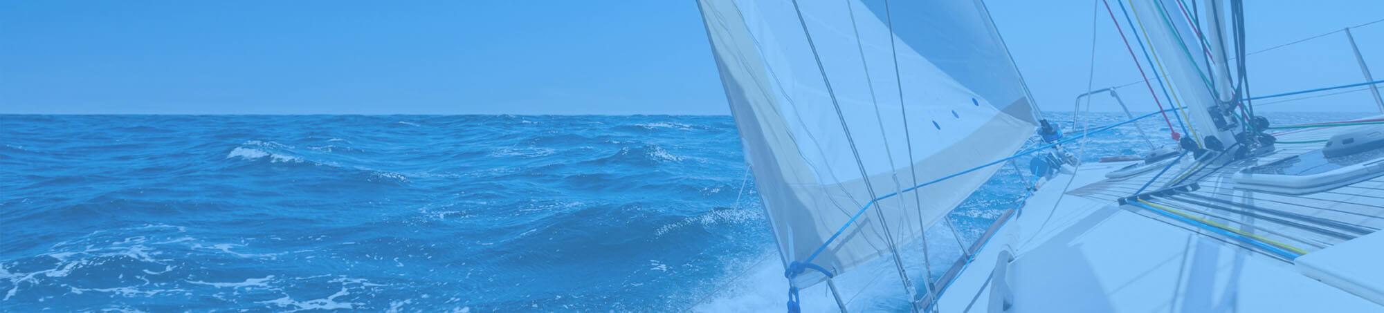 omslagsbild med segelbåt