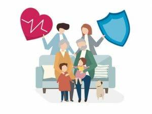 försäkring familj soffa